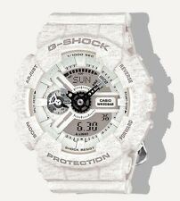 Casio G Shock * GMAS110HT-7A S Series Gshock Heathered White COD PayPal
