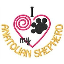"I ""Heart"" My Anatolian Shepherd Long-Sleeved T-Shirt 1429-2 Size S - Xxl"