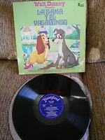 "Die Damen Y El Strolch WALT DISNEY LP Vinyl vinyl 12 "" 1975 G + Spanisch Or Ed"