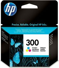 HP 300 CC643E Tri-Colour Ink Cartridge Brand New Sealed Boxed 06/2020