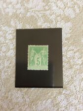 Nº102 5 c Vert Jaune Neuf ** TB Qualité Bon Centrage Cote 40€ +50% +