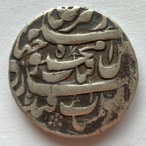 Hotaki: Mahmud Shah, 1722-1724, ND AR rupi (11.4g), Qandahar, A#2714, RARE