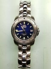 Sector 550 blue dial sapphire crystal high quality Swiss men's watch RETAIL:$895