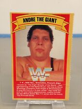 1990 Titan Sports Andre The Giant WWF Card