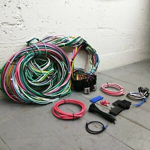 Jeep Wrangler Wire Harness Upgrade Kit fits painless complete fuse circuit new