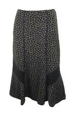 M&S Polyester Calf Length A-line Skirts for Women