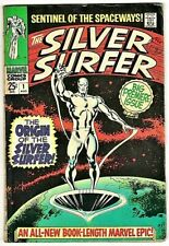 SILVER SURFER # 1 August 1968 Marvel comic First in series Origin