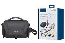 Sony Camera Case and Insignia™ 14-piece DSLR/Mirrorless Camera Accessory Kit