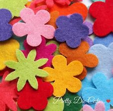 Felt Flower Small Mixed Bumper Pack (50) Craft Embellishments
