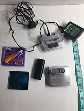 Sony Mz-N10 Md Walkman minidisc recorder - Working! Read Description