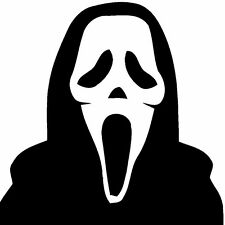 Scream 1 2 3 4 Vinyl Decal Bumper Sticker Neve Campbell Courtney Cox Ghost Face