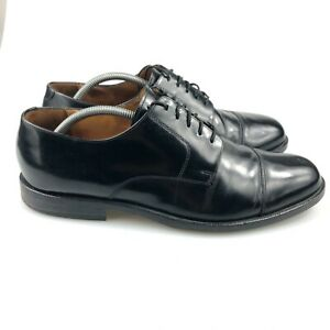 Cole Haan Mens Caldwell Derby Cap Toe Patent Leather Oxford Dress Shoes Size 11