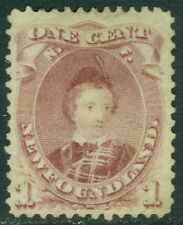 EDW1949SELL : NEWFOUNDLAND 1871 Very Fine, Mint No Gum. Catalog $115.00.
