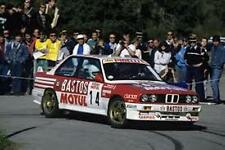 BMW M3 1989-93 Bastos Motul 1/64th HO Scale Slot Car Decals