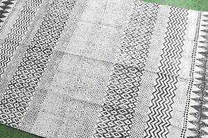 4x6ft Dari Rug Handmade Cotton Carept Floor Area Rug Home Decorative Modern Rug