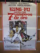 A2584 KUNG FU CONTRA LOS 7 VAMPIROS DE ORO HAMMER PETER CUSHING