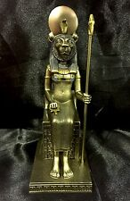 Bronze Cold Cast Statue Of Ancient Egyptian Goddess SEKHMET 18cm  High