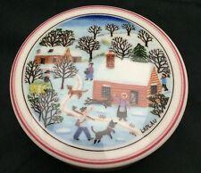 Small Villeroy & Boch Design Naif Christmas Candy Box Porcelain Laplau