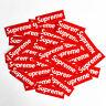 50x SUPREME Aufkleber Doodle Retro Sticker Set Sponsoren Auto Laptop Handy