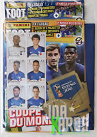 Album Panini Foot Mag World Cup 2018 Update France Pavard Rookie 3 Pack Sealed