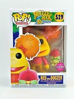 FUNKO POP!: FRAGGLE ROCK - RED (FLOCKED) WITH DOOZER EXC. #519 *UK STOCK*