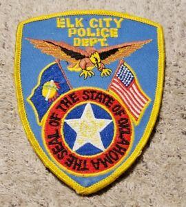 Elk City Oklahoma Police Shoulder Patch