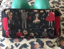 Nicole Miller Barbie Print Wallet SILK COLLECTABLE