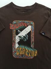 Vintage Eric Slowhand Clapton 2006/7 World Tour T-shirt Mens Size Small P3