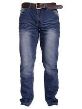 Jeans da uomo sbiaditi blu Taglia 34