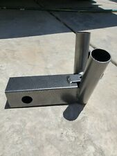 flag pole mount for hitch (mini) 2 inch hitch receivers