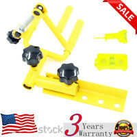Archery Bow Vise Parallel Universal Adjustable +Bow Tuning String Level Combo US