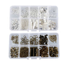 2 Set Jewellry Making Set Beading Kits with Lobster Clasps Bronze & Silver