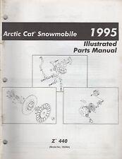 1995 ARCTIC CAT SNOWMOBILE Z 440 PARTS MANUAL P/N 2255-157 (737)
