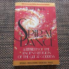 Spiral Dance Rebirth Ancient Religion Great Goddess Starhawk Wicca 10th anniv ed