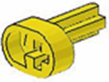 x4 Lego Technic NXT Yellow Technic Engine Crankshaft 9397 8455 8258 8070 7898