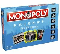 OFFICIAL FRIENDS TV SERIES MONOPOLY TRADITIONAL TRADING FAMILY BOARD GAME