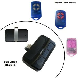 Car Sun Visor Remote Control Suits ATA SecuraCode PTX-4 Blue Pink