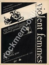 Violent Femmes Hallowed Ground 'The Face' LP advert