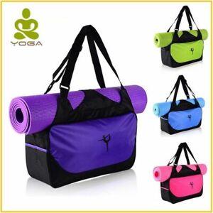Yoga Bag Gym Mat Pilates Nylon Backpack Shoulder Multifunctional Waterproof New