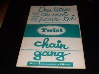 Partitur - Chain Gang - des Bises De Moi für Toi - E.Mitchell - C.Francois
