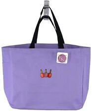 Nail Polish Monogram Bag Lilac Essential Tote Salon Tech Beauty Shop School Gift