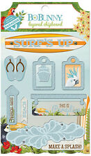 Bo Bunny Beach Therapy Collection Layered Chipboard Stickers BoBunny  2016