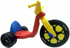 "The Original Big Wheel 16"" Trike 3 Position Adjustable Seat Clicker Sound 69997"