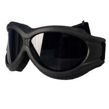 Lunettes masque noires Biker Moto custom trike black sunglasses gafas SGG1001