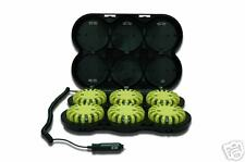 PowerFlare Rechargeable Safety Light: 6-Pack LED System