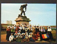 """CALAIS (62) Groupe du COURGAIN MARITIME au MONUMENT DES SAUVETEURS """"GAVET"""""""