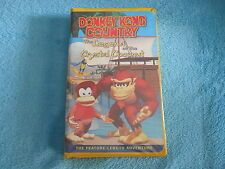 Donkey Kong Country The Legend of the Crystal Coconut VHS Video Cartoon Movie