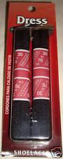Black 36 inch Shoelaces Flat Dress Shoes