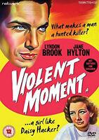 VIOLENT MOMENT DVD Lyndon Brook Jane Hylton Sidney Hayers Original UK Rel New R2