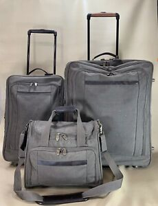 """HARTMANN Luggage Set 14"""" Tote & 22"""" Exp Wheeled Carry On & 26"""" Exp Suitcase"""